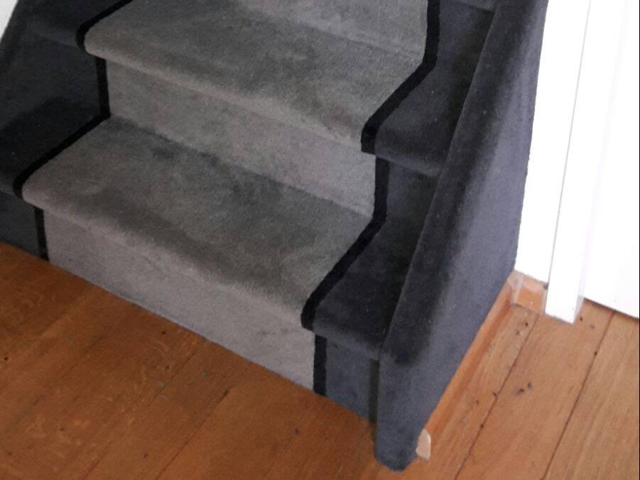 Tapijt voor trappenhuis: trap bekleden met trapbekleding smit